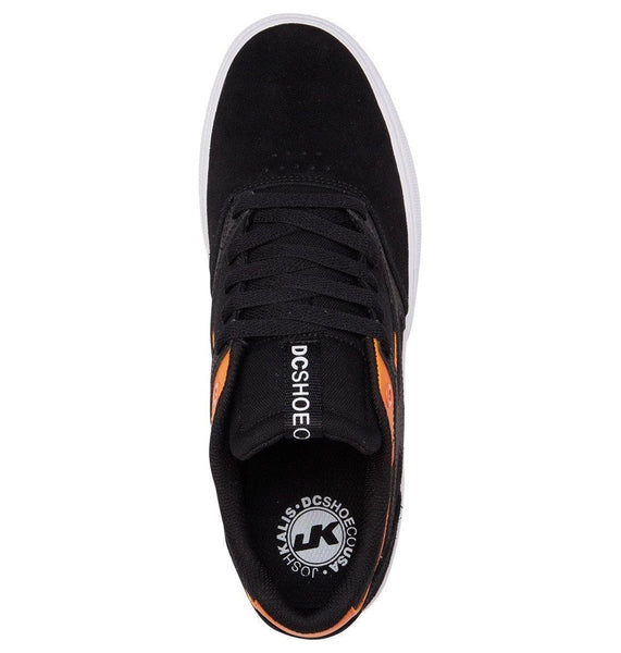 Chaussures DC SHOES Kalis Vulc S Black/orange - Noires/orange