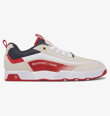 Chaussures DC SHOES Legacy 98 Slim SP White/Grey/Red - SUBIACO SKATESHOP