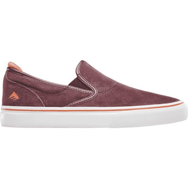 Chaussures EMERICA Wino G6 Slip On Burgundy / Bordeaux - SUBIACO SKATESHOP