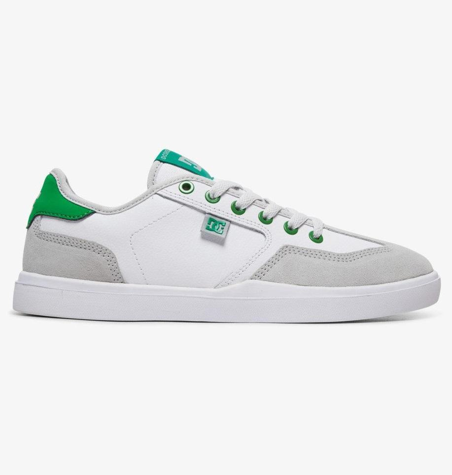 Chaussures DC SHOES Vestrey White/Grey/Green - Blanc/Gris/Vert - SUBIACO SKATESHOP