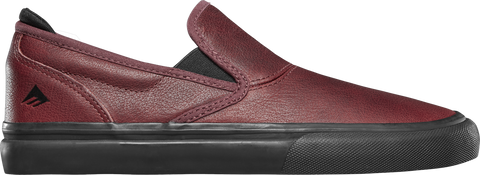 Chaussures EMERICA Wino G6 Slip On Oxblood