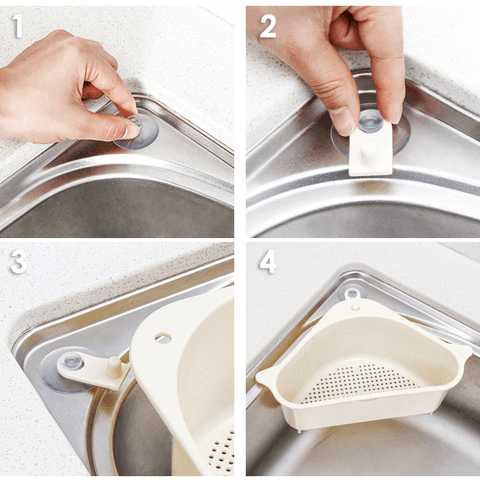 Triangulo™ - Easy Sink Drain Shelf