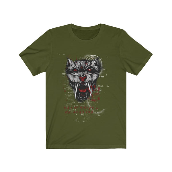 Saber Cat On A Mission T-shirt