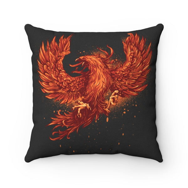 Phoenix Cry Square Pillow