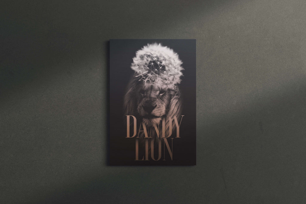 Dandy Lion Canvas Wall Art
