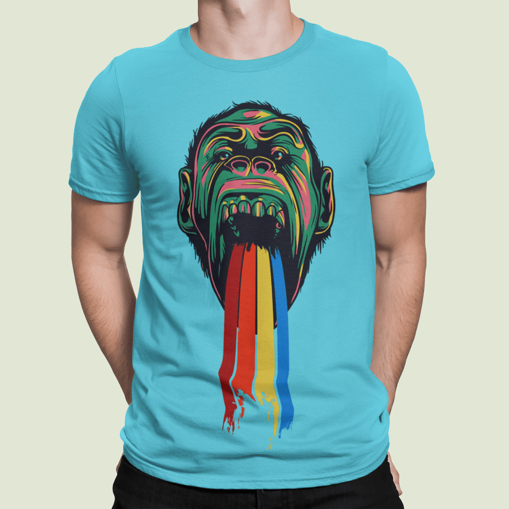 Rainbow Chimp T-shirt
