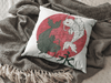 Dancing Fish Square Pillow