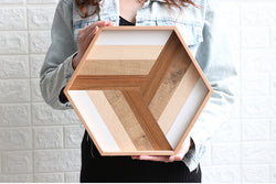 Geo Wooden Tray