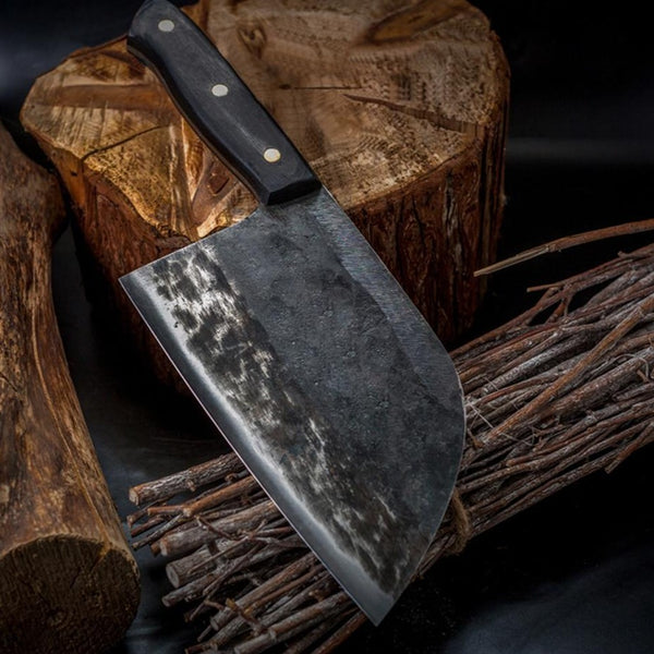 Full Tang Hand Forged Serbian Steel Chef's Knife