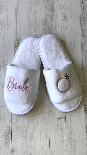 Serene Bridal Slippers
