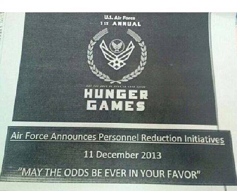 The Hunger Games: Air Force Style