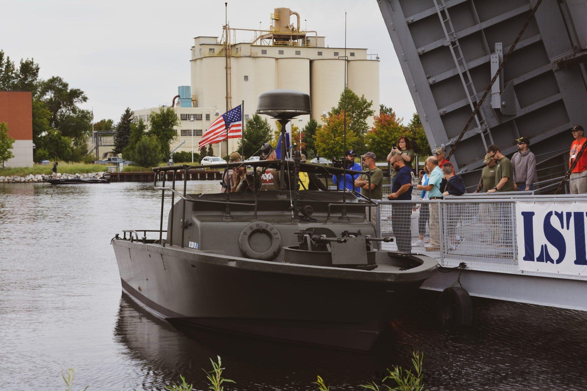 Vietnam-Era River Patrol Boat Roars Back to Life on Lake Michigan-Warrior Lodge Media