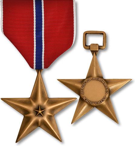"DEBATE: Should the Bronze Star Be Awarded to People Not Engaged in ""Direct"" Combat?"