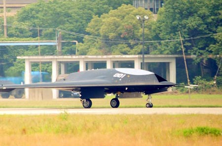 China's First Stealth Combat Drone