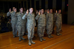 """So Help Me God"" Requirement for Military Reenlistment"