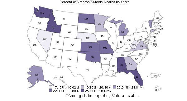 Alarming Veteran's Suicide Rates Prompt Call to Action