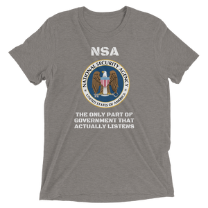 NSA Short sleeve t-shirt-Warrior Lodge Media