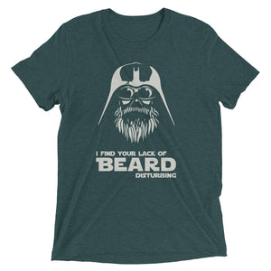 Vader Bearded Short sleeve t-shirt-Warrior Lodge Media