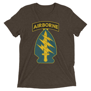 Green Beret Short Sleeve t-shirt-Warrior Lodge Media