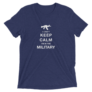 Keep Calm Short sleeve t-shirt-Warrior Lodge Media