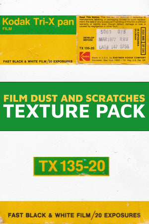 FILM DUST AND SCRATCHES TEXTURE PACK