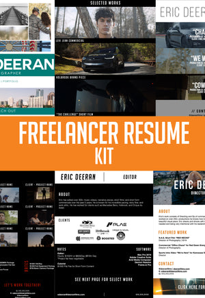 FREELANCER'S RESUME KIT