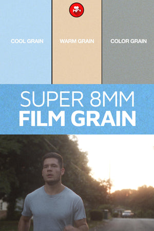 SUPER 8MM FILM GRAIN + TEXTURES