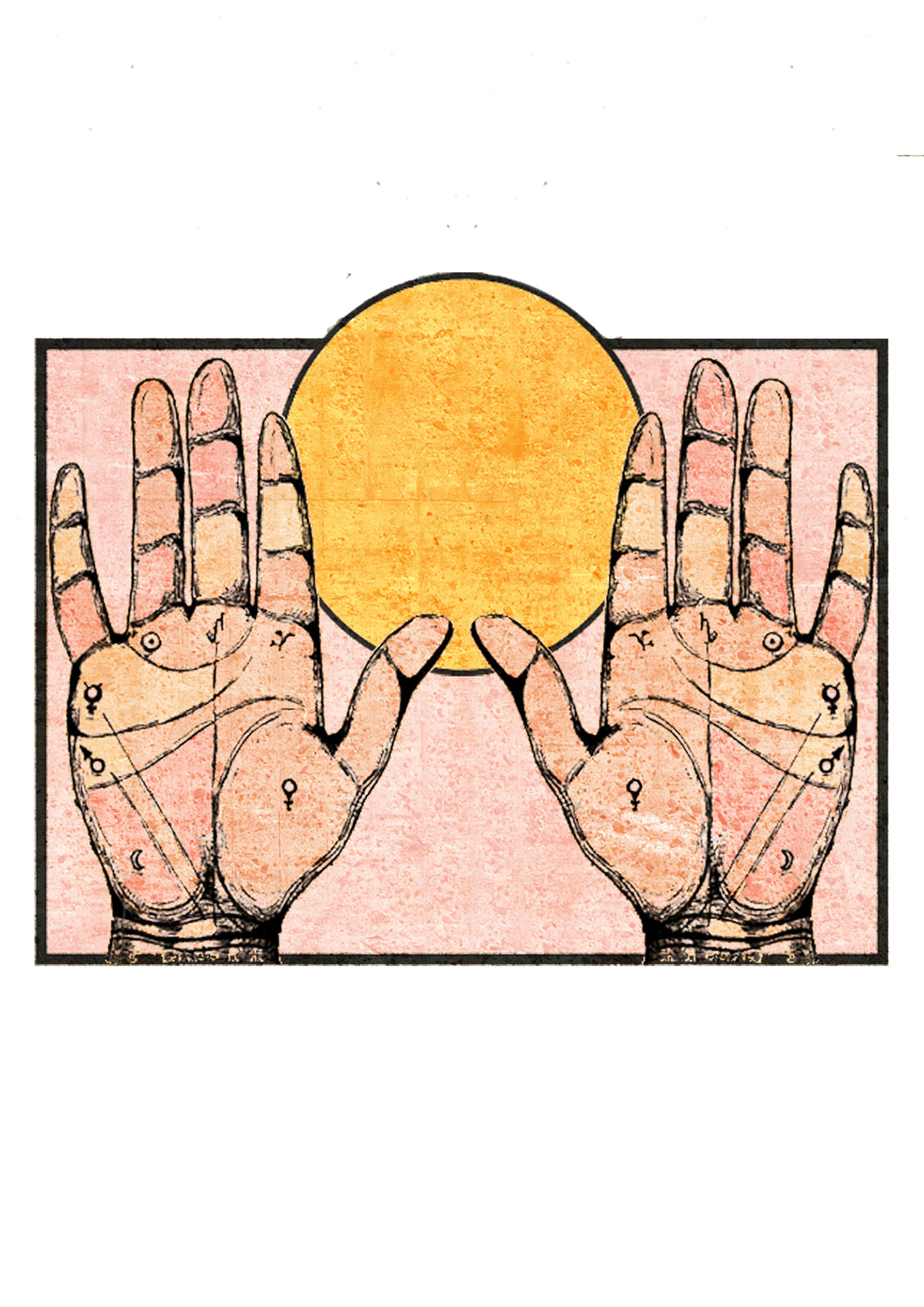 Hands To The Sun Print