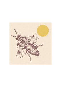 Sunshine Bee Print