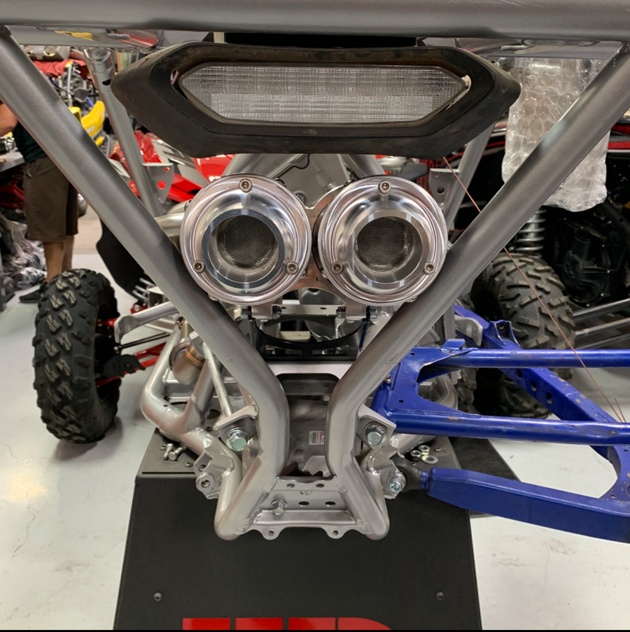 Weller Racing Yamaha YXZ1000R WR Edition Full Dual Exhaust System