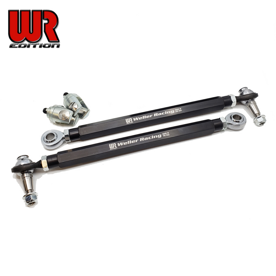 Weller Racing YXZ1000R HD Tie Rod Kit - WR Edition (Stock A-Arms)
