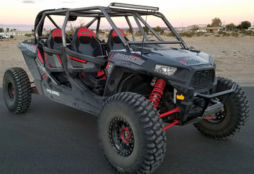 LSK POLARIS RZR XP 1000 / Turbo 4-SEAT ROLL CAGE