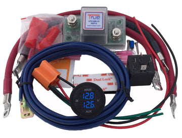 TrueAm UTV Dual Battery Connection and Monitor Kit