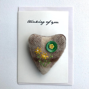 Wool Brooch Gift Card