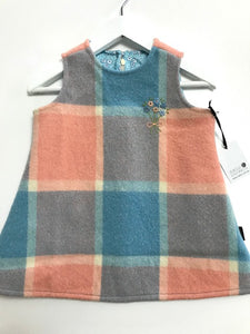 Wool Blanket Pinafore Dress