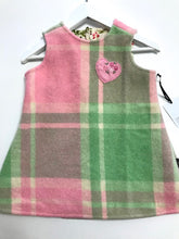 Load image into Gallery viewer, Wool Blanket Pinafore Dress