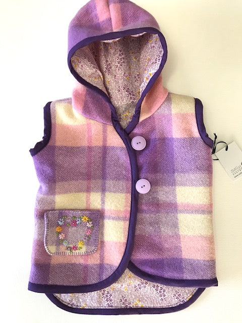 Wool Blanket Little Wanderers Vest