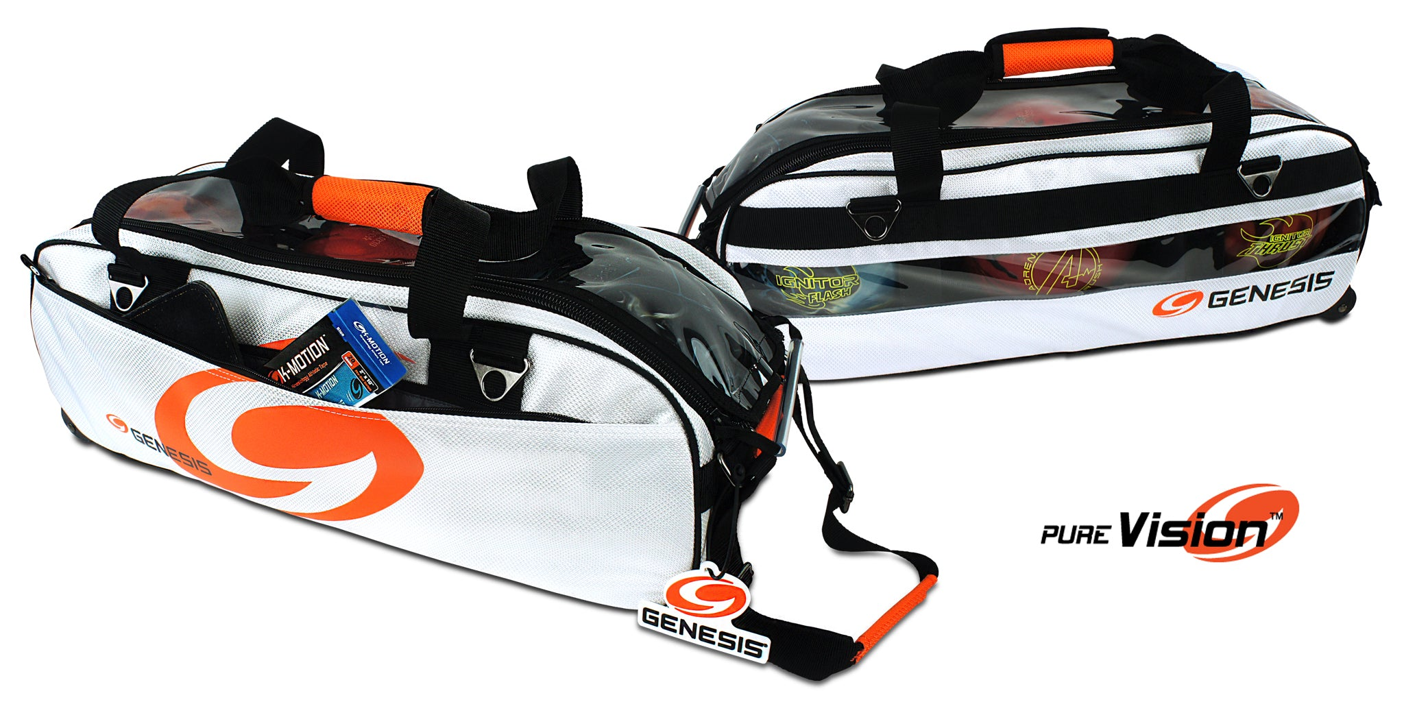 Genesis® 3 Ball Rolling Tote w/ Pure Vision™