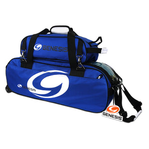 3 Ball Rolling Tote w/ Shoe Bag