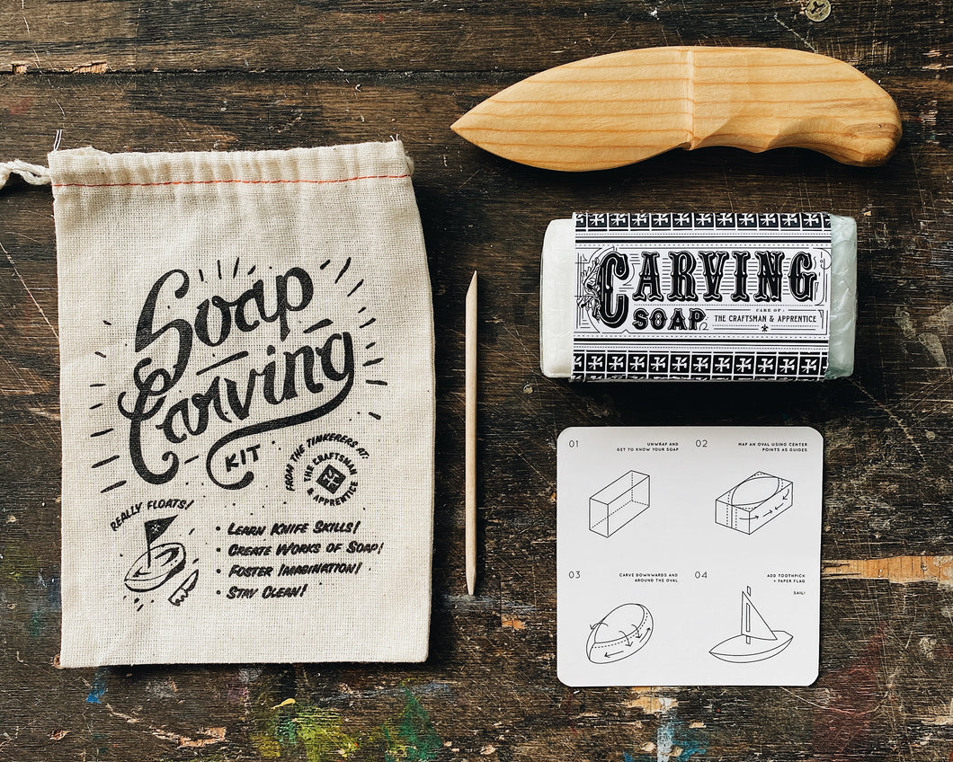 Soap Carving Kit