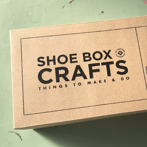 Shoe Box Crafts: Block Printing on Paper