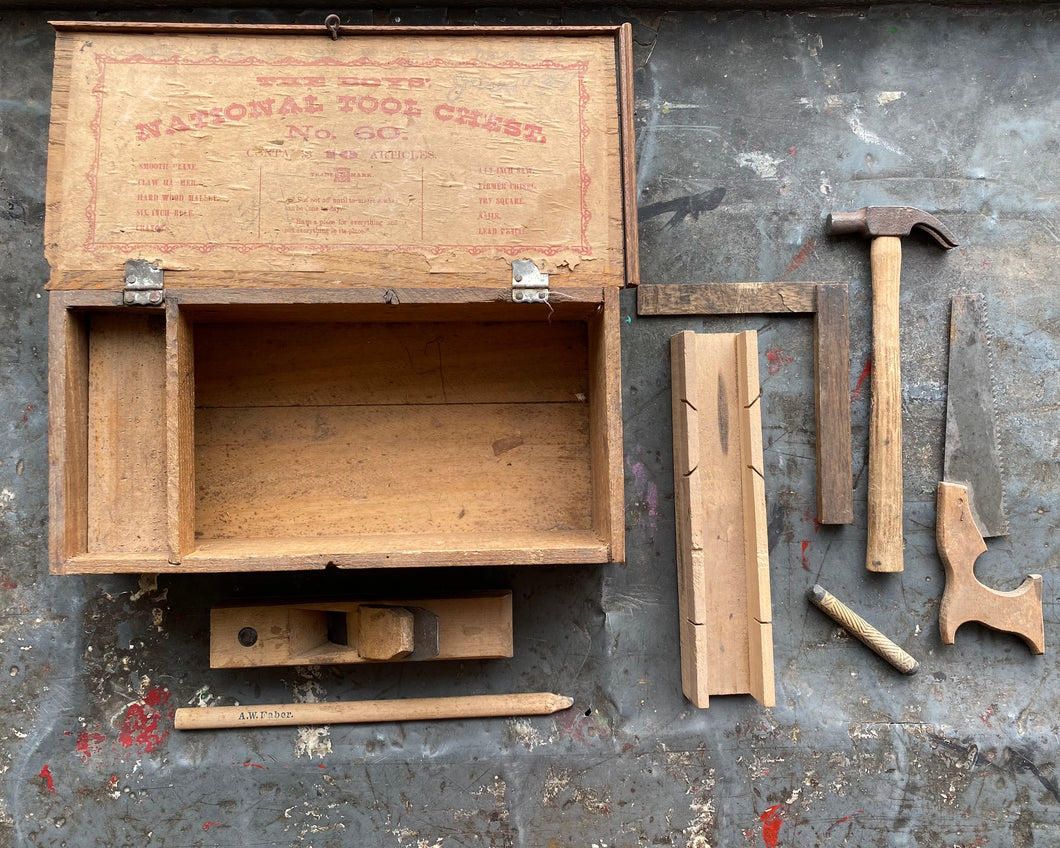 Children's Tool Box: The Boys' National Tool Chest c. 1934