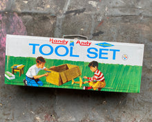 Load image into Gallery viewer, Vintage Handy Andy Children's Tool Box