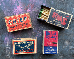 Vintage Matchbox Lot of Four