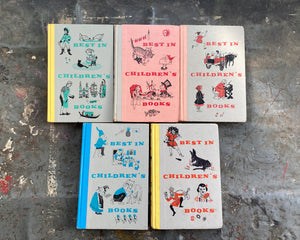 1950's Best in Children's Books-Five Book Lot