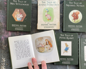 Beatrix Potter Books-Lot of Seven Classic Books