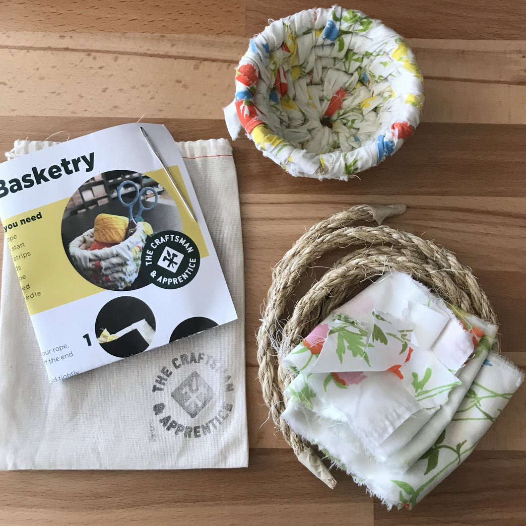 Rag Coiled Basket Kit