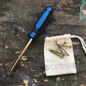 Screw Driver & Screw Set