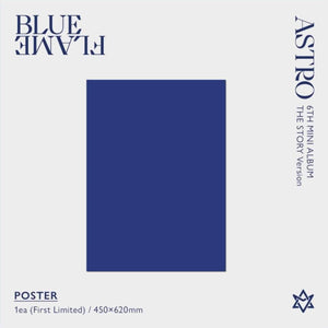ASTRO BLUE FLAME [The Story Ver. / The Book Ver]-Albums-Corea Box-Corea Box