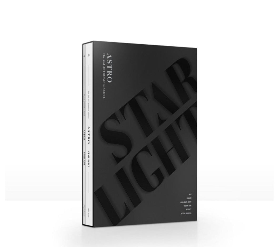 ASTRO - The 2nd ASTROAD to Seoul STAR LIGHT Blu-ray-DVD-Corea Box-Corea Box